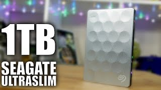 Seagate BackUp Plus UltraSlim Portable Hard Drive Review