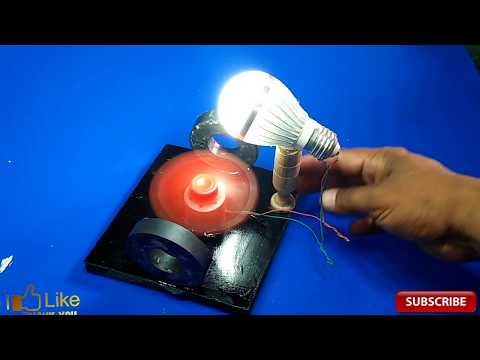how to make free energy generator with magnet very easy diy science project school