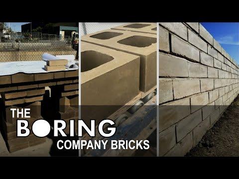 What happened to Elon Musk's Boring Company bricks?