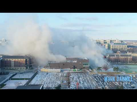 Demolition of the Cather-Pound dorm buildings