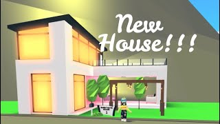 Futuristic House in Roblox Adopt Me (Indoor pool, Balcony) | Its SugarCoffee
