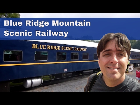 Blue Ridge Scenic Railway   7-29-16