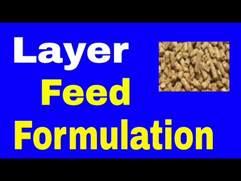 Making Layer Feed , Formula - 3 || Poultry Feed Formulation || Poultry Farming || Layer Farming