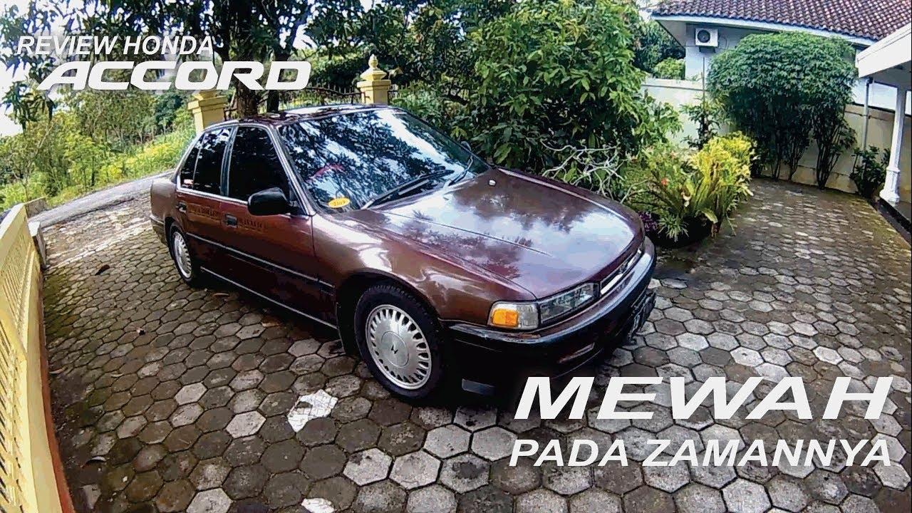 review honda accord 2.0 maestro 1991 dan test drive - carvlog