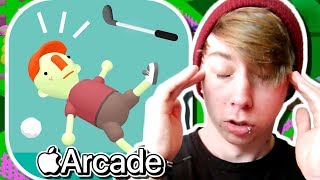 WHAT THE GOLF? ( Apple Arcade Gameplay)