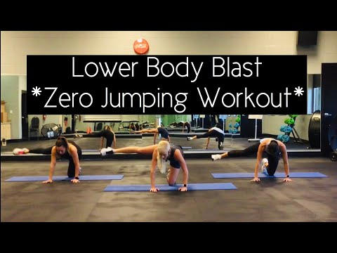 Lower Body Blast | Zero Jumping Workout