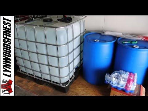 Adventures in Survival: Water Storage