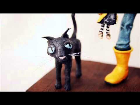 Paso a paso con Sculpey: CORALINE y gato.