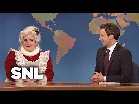 Weekend Update: Mrs. Claus on Living With Santa - SNL