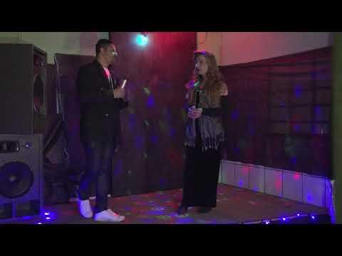 show de Luma Kalil durante as gravações para o filme Quarto Camarim