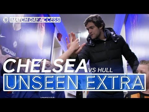 Chelsea 4-0 Hull   Alonso & Morata Joke In Tunnel   Unseen Access