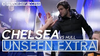 Chelsea 4-0 Hull | Alonso & Morata Joke In Tunnel | Unseen Access