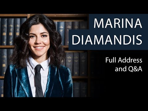 Marina Diamandis | Full Address and Q&A | Oxford Union