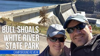 Bull Shoals White Riטer State Park // November Camping in Arkansas // Lakeview, AR [EP 42]
