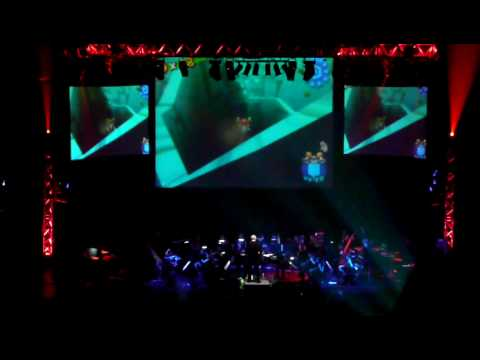 Video Games Live - Mario Medley Orchestral Version - @Paris Palais des Congrès - 21.11.09