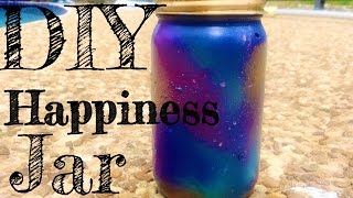DIY Happiness Jar (Universe Theme)