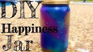 DIY Happiness Jar (Universe Theme)