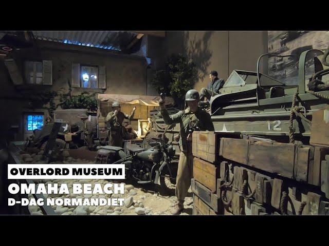 Overlord Museum Omaha Beach, D-dag Normandiet