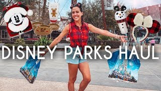Huge Disney Parks Christmas Shopping Haul