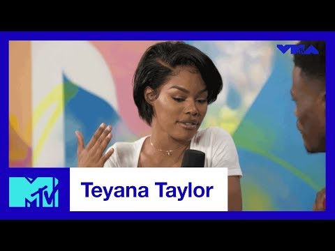 Teyana Taylor on Her First VMA Experience | #TRL | MTV