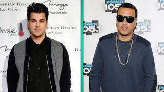 Rob Kardashian Hangs Out With Khloe Kardashian's Ex French Montana in New Video