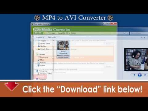 Free MP4 to AVI Converter & All Formats -- Free Download