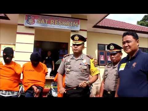 Polres Lampung Barat Laksanakan Press Release Ungkap Kasus Curat dan curanmor Mp3