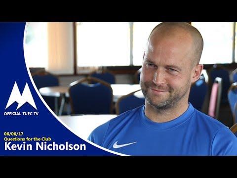 Official TUFC TV | QFTC Kevin Nicholson