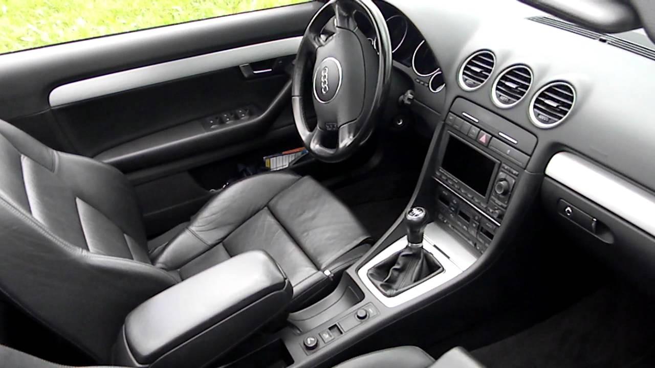Audi A4 Cabrio 25 Tdi Youtube