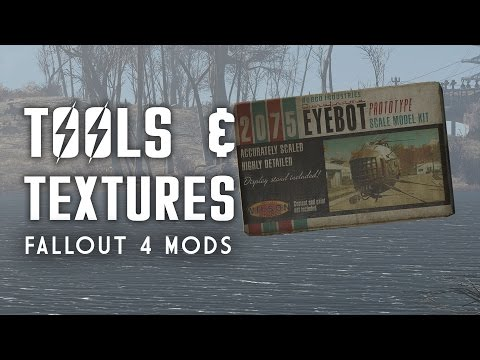 Game Changing Tools & Textures - Fallout 4 Mods - Oxhorn's Mod Muster