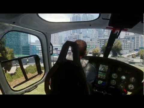 GTA IV - Eurocopter AS350 Ecureuil Helicopter Preview