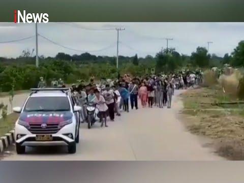 11 Remaja Ditangkap Saat Tawuran, Polisi Kejar Pelaku Kesawah Dan Perumahan - INews Sore 30/04