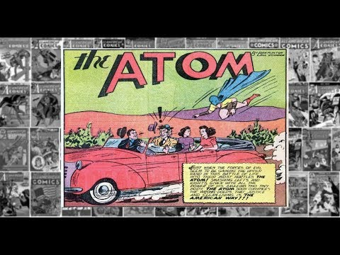 """The Atom: """"The Miracle Solvent"""", All American Comics #33"""