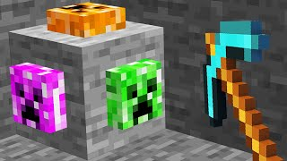 Minecraft but there's Custom Ores