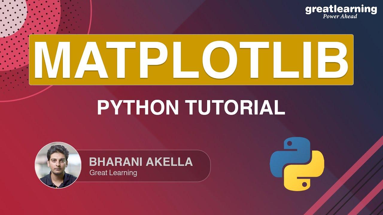Matplotlib Python Tutorial | Matplotlib Tutorial | Python Tutorial