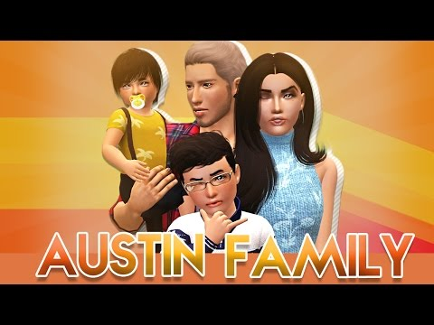 Sims 3 || Current Household: The Austin Family - May 2017
