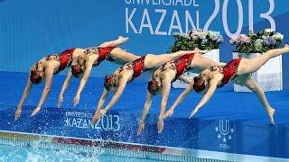 Синхронное плавание | Россия | Универсиада 2013, Казань