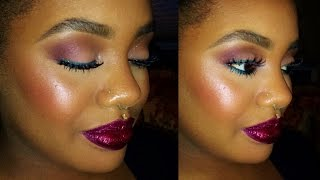 Tutorial| Black Dahlia (Full Face w/Model) Thumbnail
