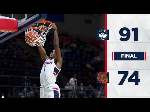 UConn Men's Basketball Highlights v. Cornell 11/20/2018