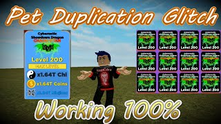 *OP* NINJA LEGENDS PET DUPLICATION GLITCH THE QUICKEST AND EASIEST METHOD | NINJA LEGENDS | ROBLOX