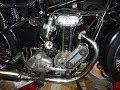 AJS 250 1939 start up after adjustments following first start.