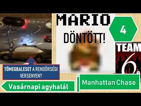 POZITÍVUM, HOGY TUDOK RÖHÖGNI!   Vasárnapi agyhalál №4 - Manhattan Chase