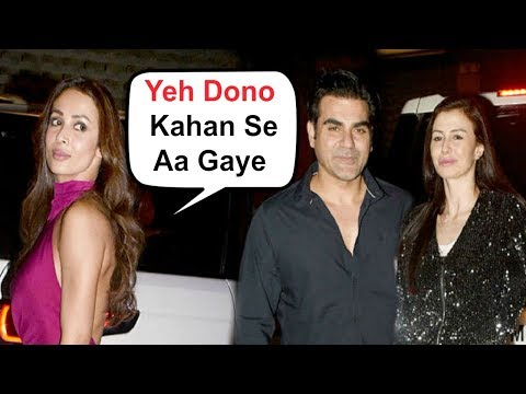Malaika Arora Khan Ignores Arbaaz Khan And His Girlfriend At Salma Khan Birthday Party
