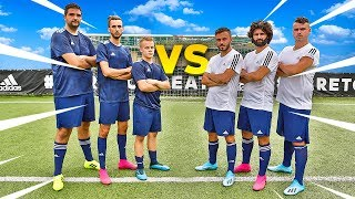 ⚽ 3 vs 3 FOOTBALL CHALLENGES con gli ELITES!