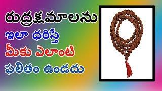 Unknown Facts About Rudraksha II రుద్రాక్ష మాల రహస్యం II MANA TELUGU MEDIA