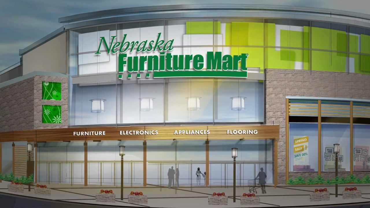 Nebraska furniture mart is coming to texas youtube for Furniture mart
