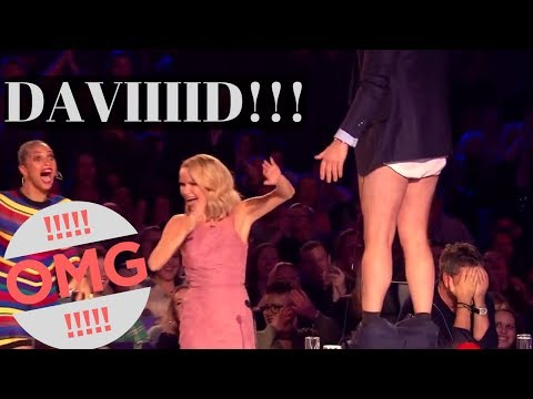 "Top 10 ""DAVID WALLIAMS's SHOCK and AMAZING MOMENTS"" EVER!"