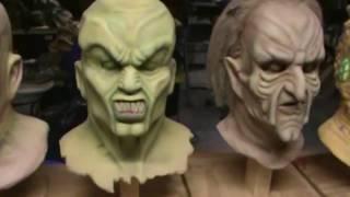 My Goosebumps TV show replica masks