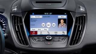 2017 Ford Kuga SUV and SYNC 3
