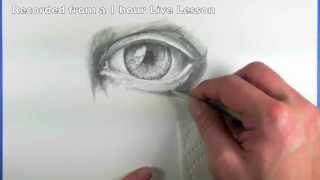 How to Use Blending Stumps - Eye Drawing